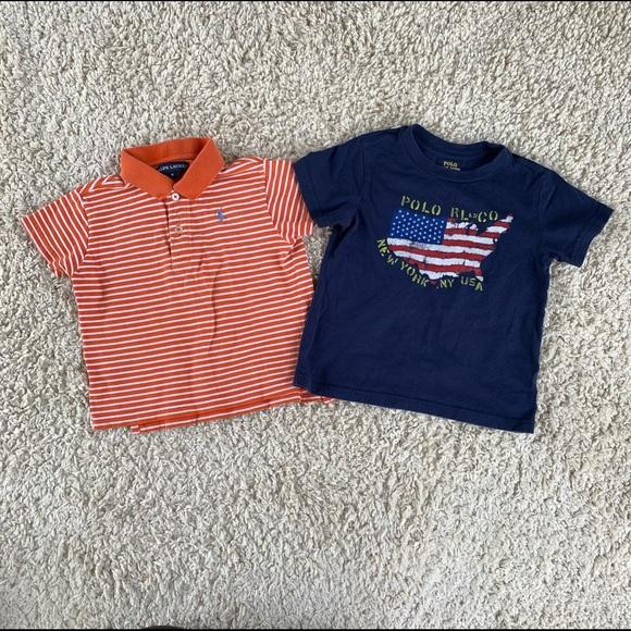 Ralph Lauren Polo Shirt & Short Sleeve T-Shirt GUC